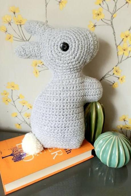 Bunny Crochet Cushion | Easter Bunny Cushion | Decorative Bunny Cushion | Easter Home Decor | Easter Accessories | Bunny Decor | Kids Decor